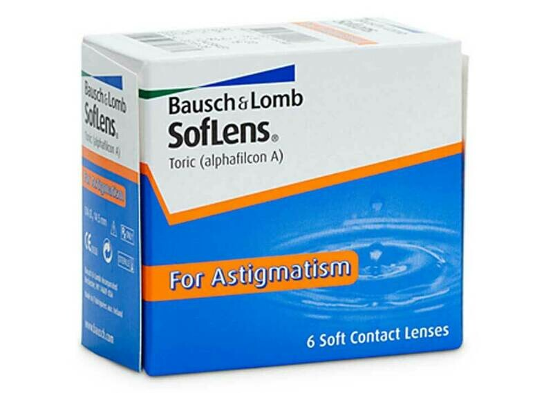 SOFLENS  Monthly Lens For Astigmatism 6 Pc