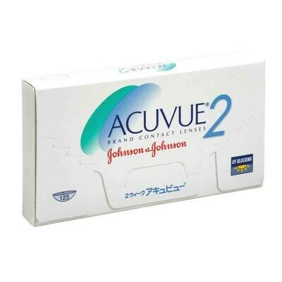 ACUVUE 2 Bi Weekly Lens 6Pc
