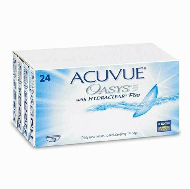 ACUVUE OASYS Bi Weekly Lens 24Pc