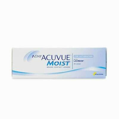 ACUVUE MOIST Dailies Lens For Astigmatism 30Pc