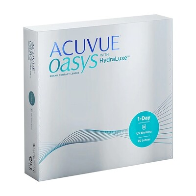 ACUVUE OASYS HYDRALUXE  Dailies Lens 90 Pc