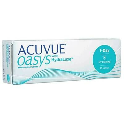 ACUVUE OASYS HYDRALUXE Dailies Lens 30 Pc