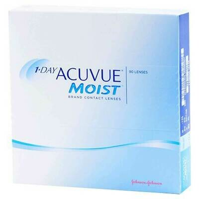ACUVUE MOIST Dailies Lens 90 Pc