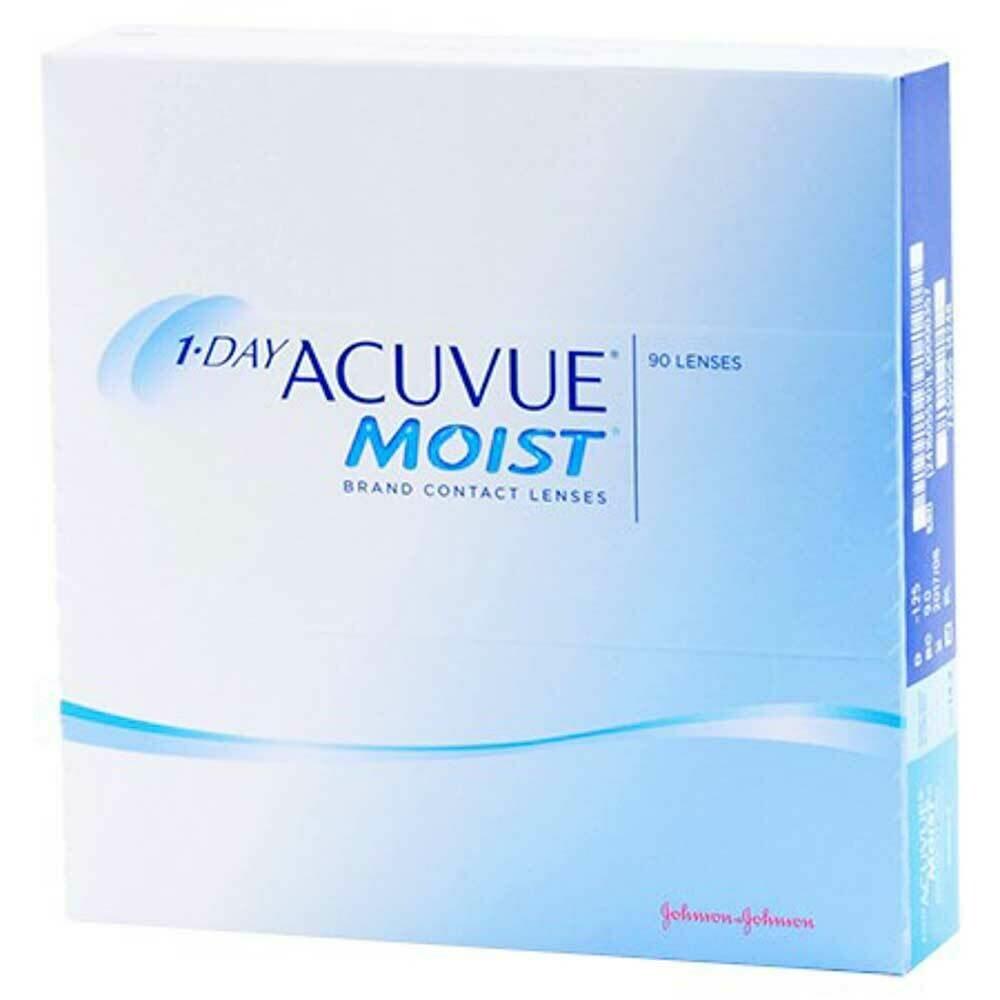 Acuvue Moist Dailies Lens 90 Pc