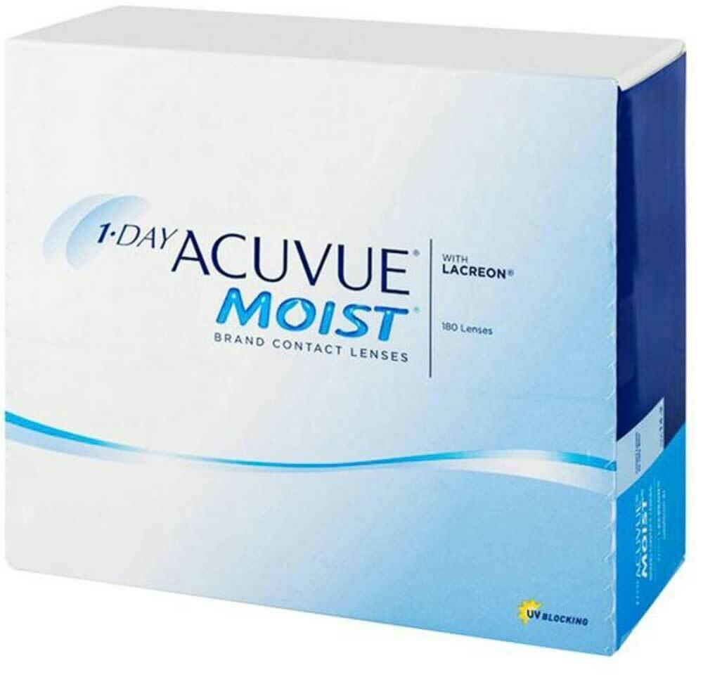 Acuvue Moist Daily Lenses 180 Pc