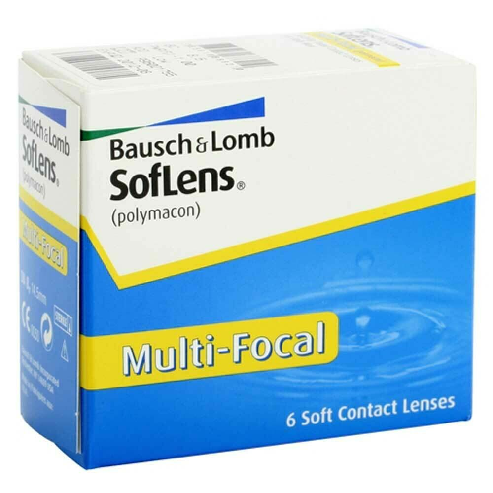Soflens  Monthly Multi Focal Lens  6 Pc