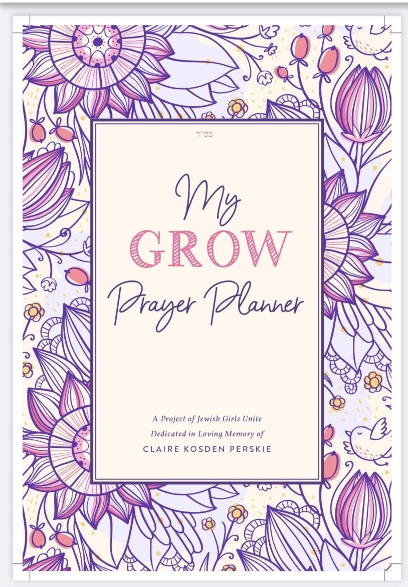 G.R.O.W. Prayer Planner for Girls