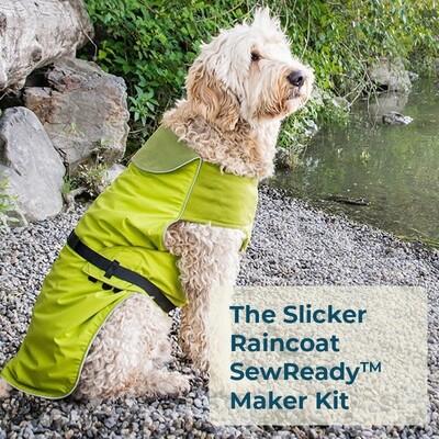 The Slicker DIY Light Dog Raincoat SewReady™ Maker Kit