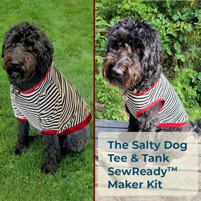 The Salty Dog Tee & Tank SewReady Maker Kit