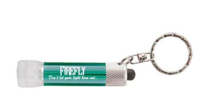 "Firefly ""Don't Let Your Light Burn Out"" Mini Flashlight"