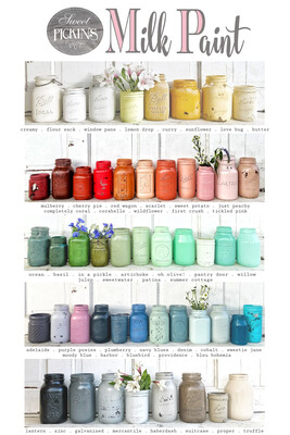 Sweet Pickins Milk Paint, Gallon, ***FREE SHIPPING***