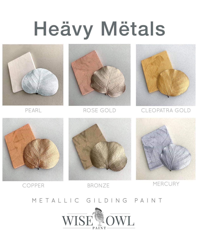 Wise Owl Paint Heavy Metals Gilding Paint