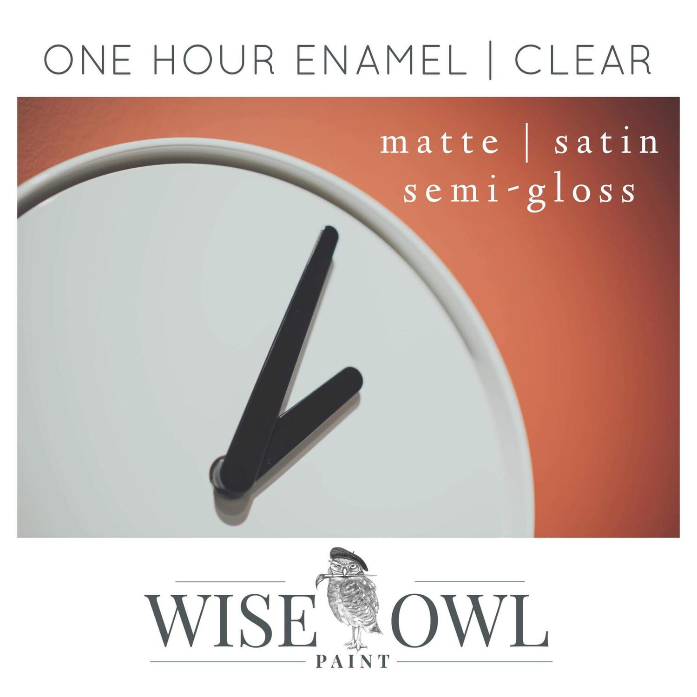 Wise Owl CLEAR One Hour Enamel