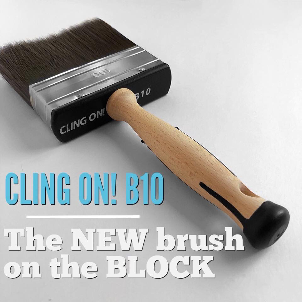 Cling On B10 4 inch Block Brush  ***FREE SHIPPING***