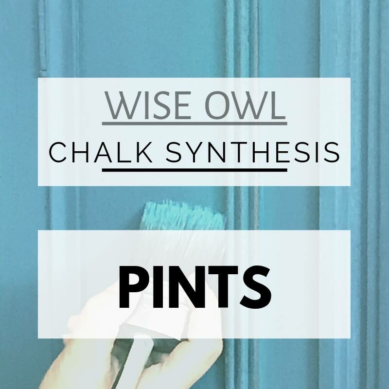 Wise Owl Chalk Synthesis Paint, 16 oz Pint  ***FREE SHIPPING***