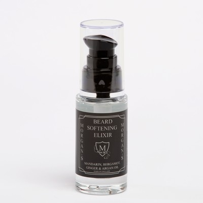 Beard Softening Elixir 30ml Glass Bottle