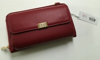 Save the Girls - Sanibel in Red.  Crossbody.  Touch Screen Purse.  Works fabulously.  Also available in Black