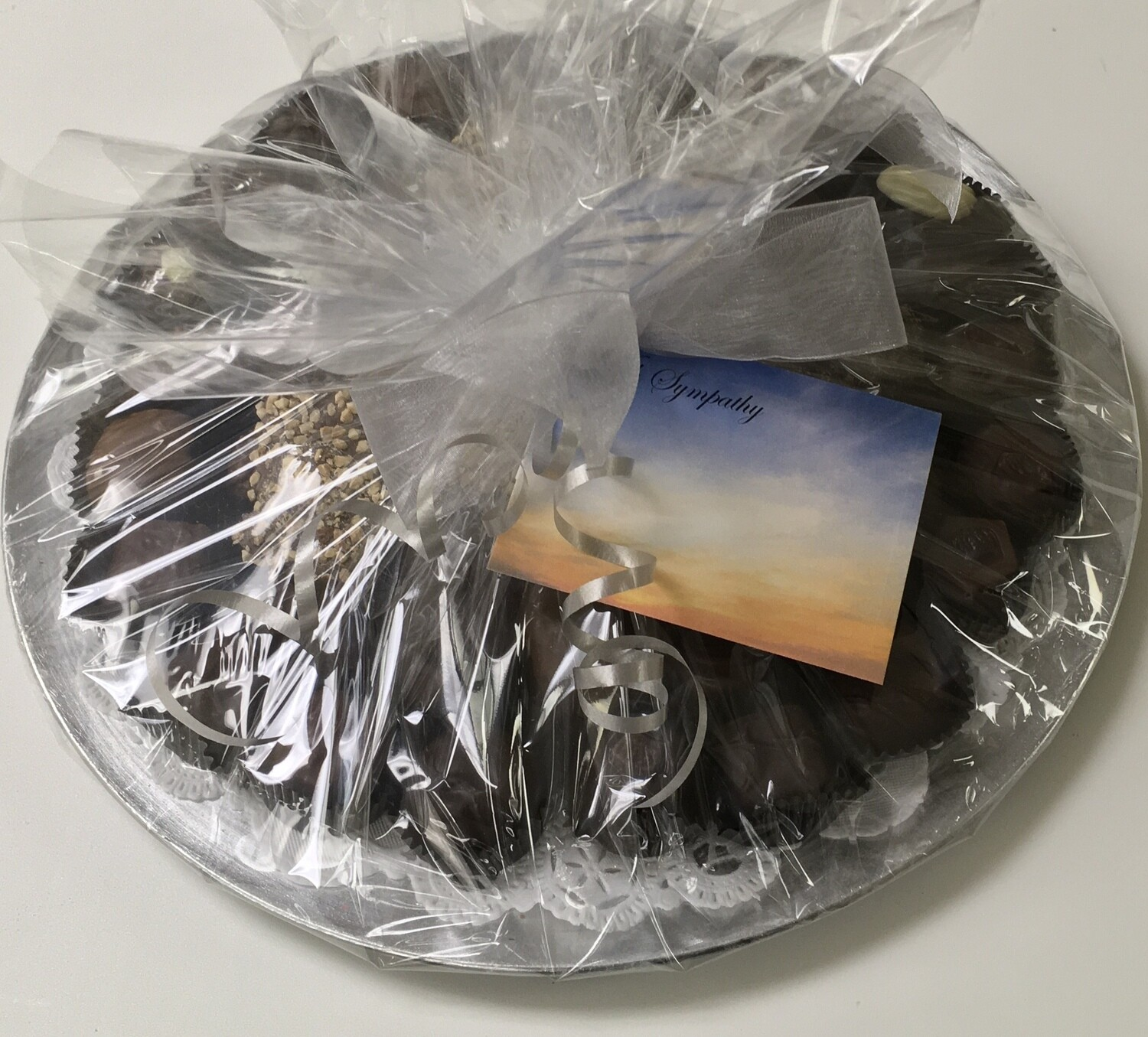 F - Sympathy Tray.  The Best of Carella's Chocolates.