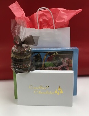 #2 Drive up Package - Assorted Chocolates, Gourmet Pretzels & Puzzle