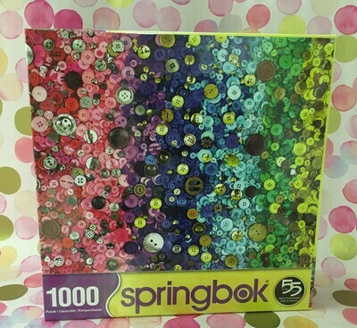 Buttons Springbok Puzzle.  1000 Piece