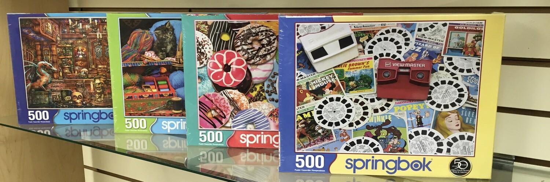 500 Piece Puzzles.  Choose your Favorite