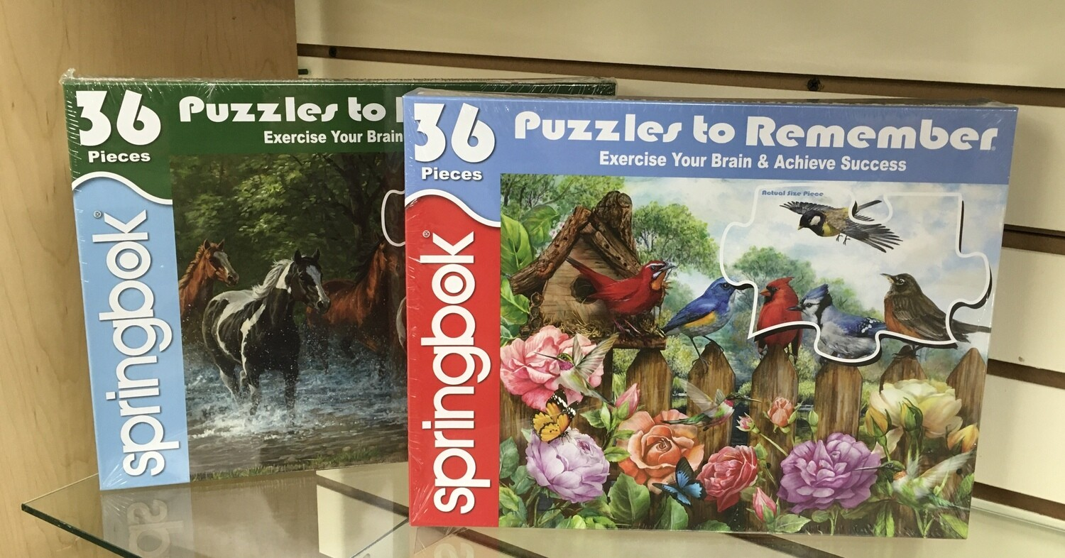 ExerciseyYour Brain Puzzles. Great for elderly and Alzheimer patients.
