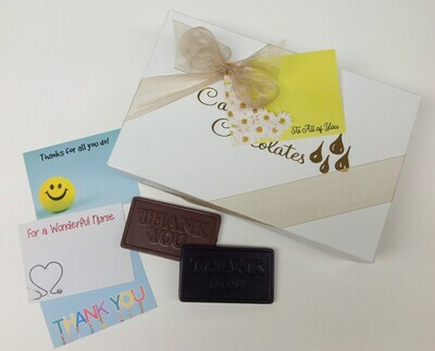 2 Pounds plus of Assorted Chocolates - Bowed with card