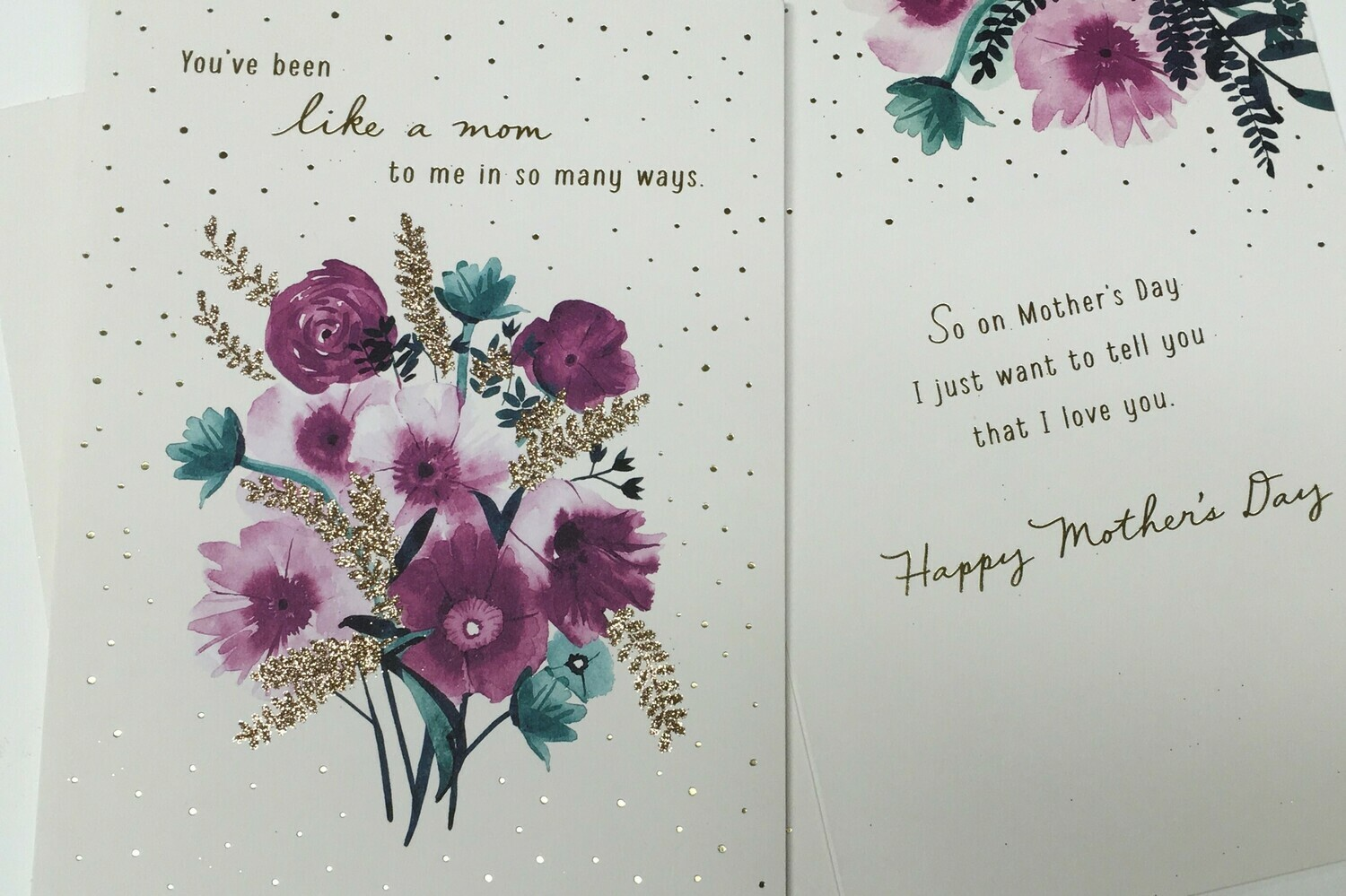 """""""Like a Mom"""" Mothers Day Card."""