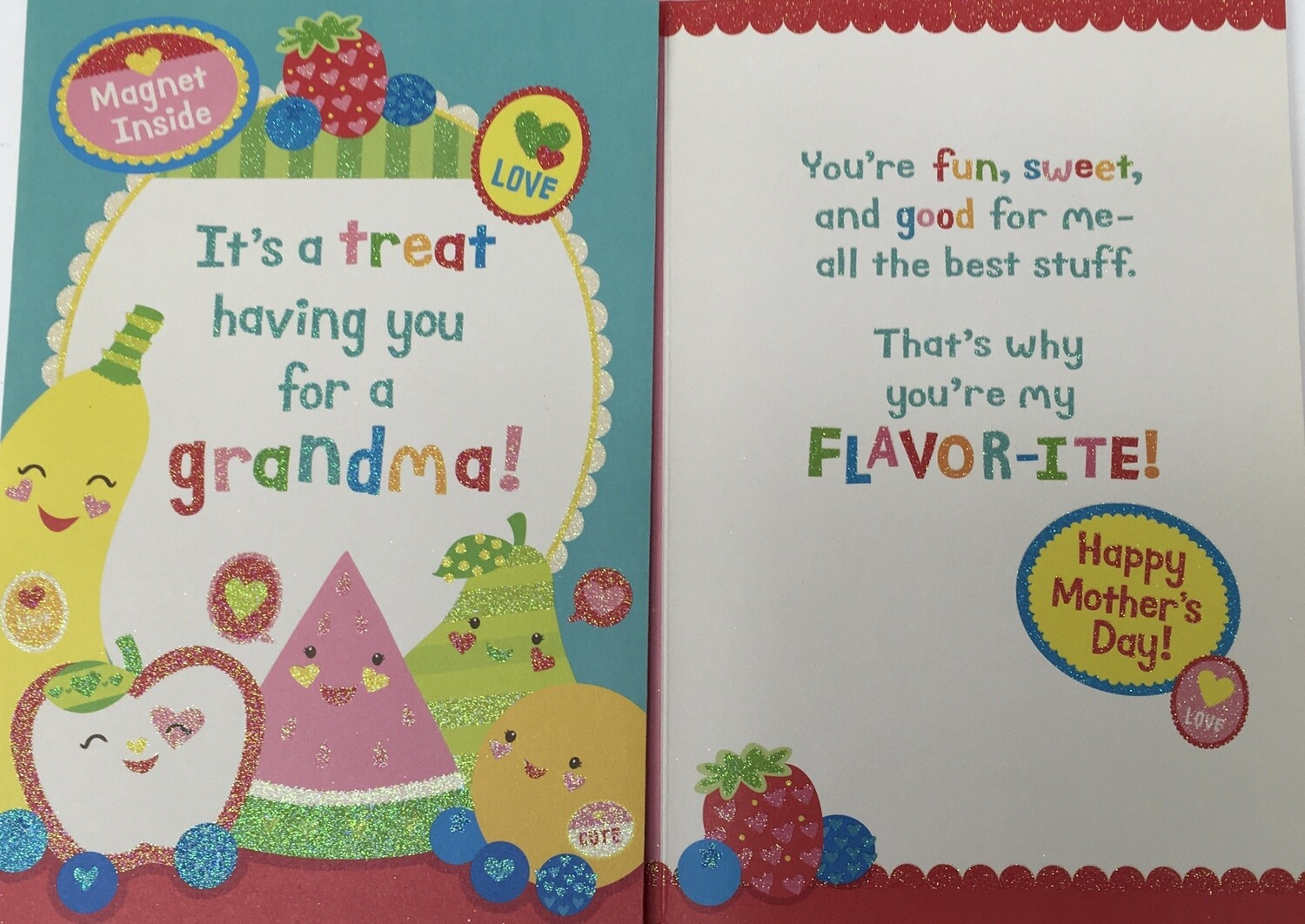 Grandma from Kid for Mom's Day.