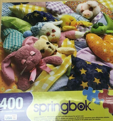 400 Piece Puzzle.  Snugglies