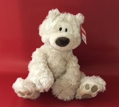 Philbin Medium.  Cream Bear Gund,