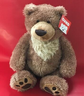 Slumber.  Brown and Tan Bear Gund.  12 inches.