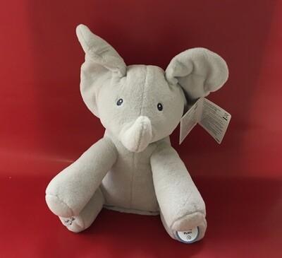 Singing Elephant by Gund.  Plays peekaboo and sings.  Simply Adorable!!!