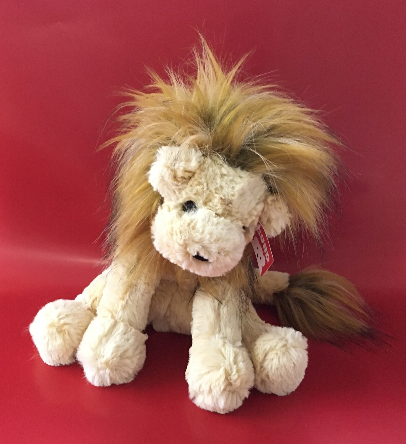 Cozys.  Plush Lion Gund