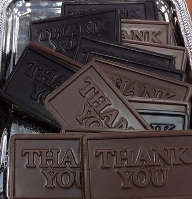 Business Card Size Thank you Bars