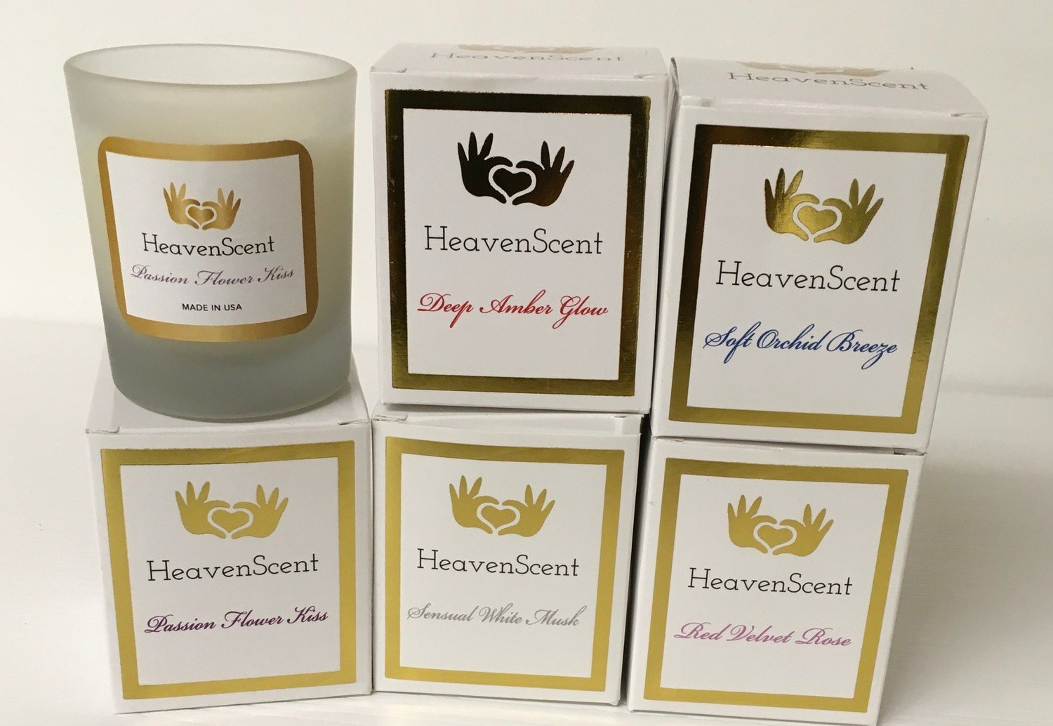 """3 Ounce """"Heaven Scent"""" Candle.  Choose your fragrance."""