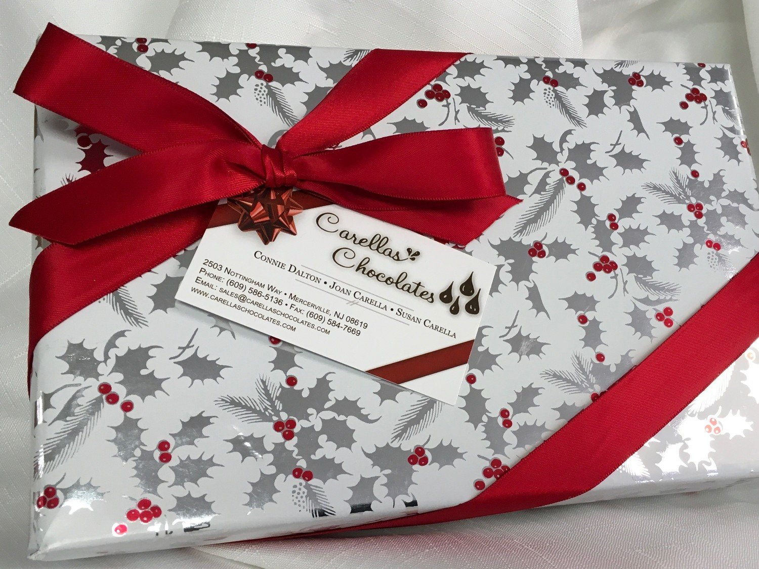 F - One Pound of Assorted Chocolates.  Choose from Several Chocolate Assortments