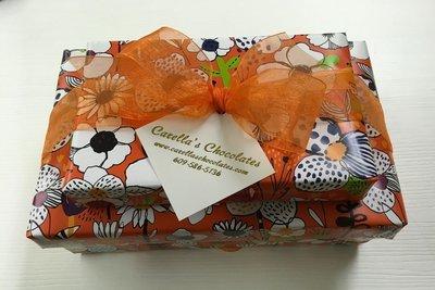 3 Tiered Everyday Chocolate Assortment, 2 lb box Assorted Chocolates Mk & Dk, 1 lb Assorted Truffles, 1/3 lb Mini Pretzels Assorted Mk & Dk