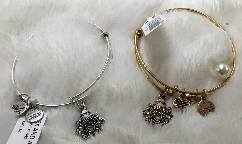 Friend Alex and Ani Bangle Bracelet