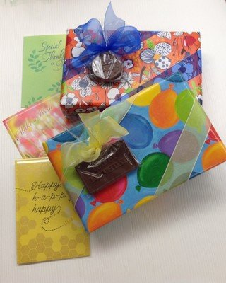2 Pound Box Assorted with Birthday or Special Occasion Chocolate and Free Card