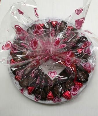 Valentine Assorted Chocolates Tray (2 Lbs)