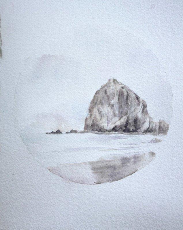 Haystack Rock No. 1 [ORIGINAL]