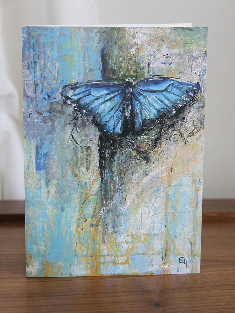 5x7 Greeting Card with Envelope - Butterfly