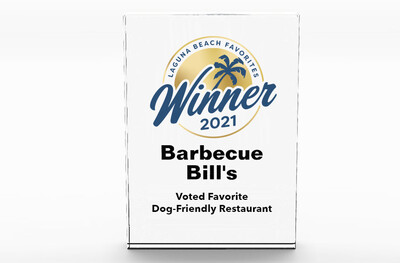 Laguna Beach Favorites Winner's Acrylic Block Award
