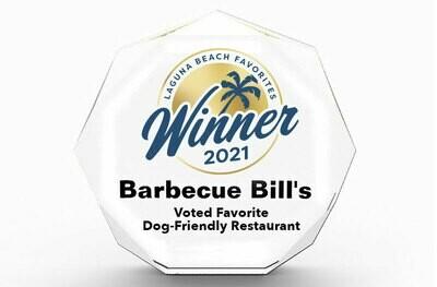 Laguna Beach Favorites Winner's Acrylic Block Award Octagonal