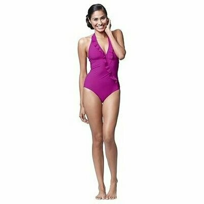 ASSETS BY SPANX® Halter Swim Suit