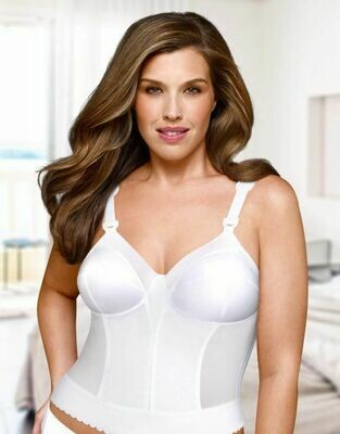 EXQUISITE FORM FULLY® FULLY® BACK CLOSE LONGLINE BRA