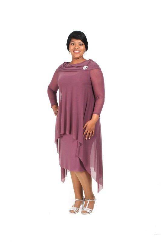 Marietjie Top with Skinny Cocktail Dress