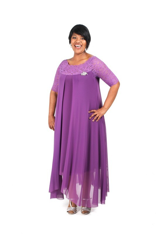 Erica Plus Size Cocktail Dress