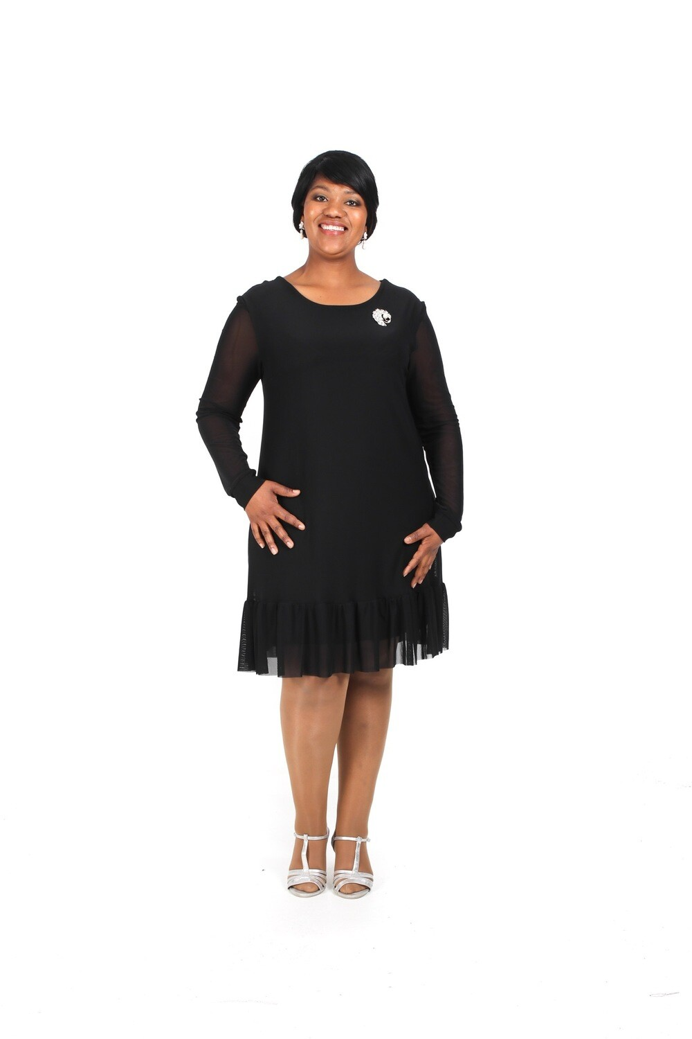 Frill Tunic with Sleeve